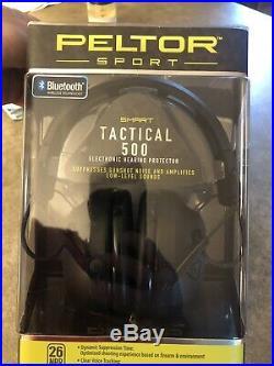 Peltor Sport Tactical 500 Electronic Earmuffs
