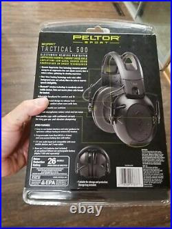 Peltor Sport Tactical 500 Electronic Hearing Protector, TAC500-OTH Bluetooth NEW
