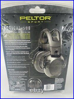 Peltor Sport Tactical 500 Smart Electronic Bluetooth Hearing Protector open box