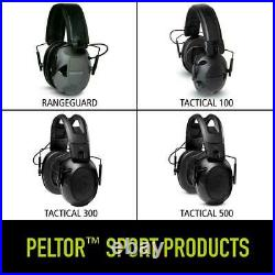 Peltor Sport Tactical 500 Smart Electronic Hearing Protector with Bluetooth