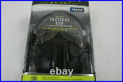 Peltor TAC500-OTH Sport Tactical 500 Smart Electronic Hearing Protector Black