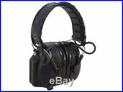 Peltor Tactical PRO Electronic Earmuffs (NRR 26dB) Black MT15H7F SV