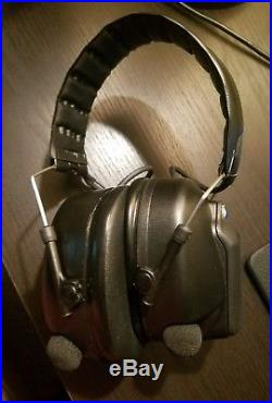 Peltor Tactical PRO Electronic Earmuffs (NRR 26dB) MT15H7F 370 SV