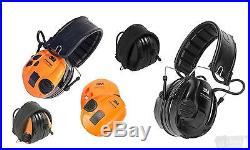 Peltor Tactical Sport Hearing Protector Foam 20dB NRR Black/Orange 97451