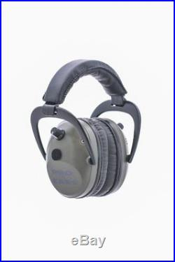 ProEars Tac Plus Gold Military Grade Hearing Protection & NRR 26 Green EarMuffs