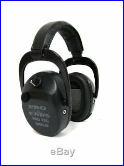 ProEars Tac SC Gold Military Grade Hearing Protection and NRR25 Black EarMuffs