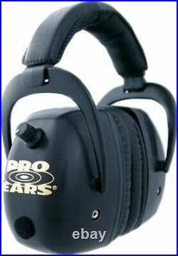 Pro-Ears Dimension 1 Plus Pro-Mag Plus Shooting Earmuffs GS-DPM-Black GSDPMB