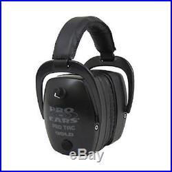 Pro Ears GSPTMLB Pro Tac Mag Gold NRR 33 Lithium 123 Battery Black