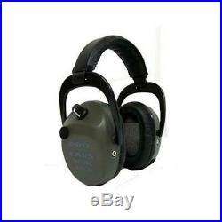 Pro Ears GSPTSLB Pro Tac Slim Gold Black Earmuffs Hearing Protection Shooting