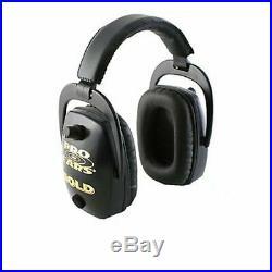 Pro Ears GS-DPS-B Pro Slim Gold Series Ear Muffs Black