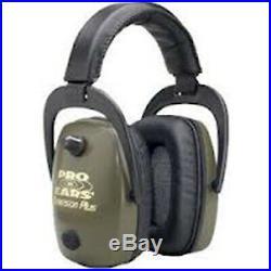 Pro Ears GS-DPS-G Pro Ears Pro Slim Gold Series Ear Muffs Green GS-DPS-G