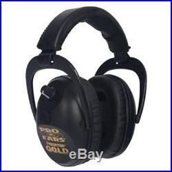 Pro Ears GS-P300-B Predator Gold Series Ear Muffs Black