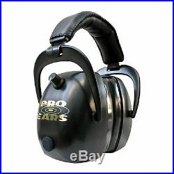 Pro Ears Gold II 30 Electronic Hearing Protection Black