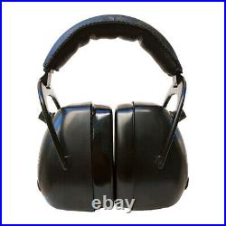 Pro Ears Gold II 30 Full Cup Compression Hearing Amplify Protector Muffs, Black