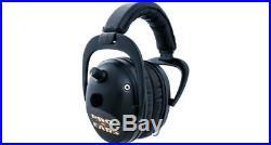 Pro-Ears P300 Predator Gold Electronic Earmuffs, NRR 26 Black Ear GSP300B