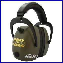 Pro Ears PEG2RMG Pro Ears Gold II Electronic 30 dB Green Earmuffs