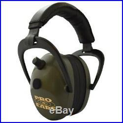 Pro Ears PEG2SMG Pro Ears Gold II Electronic 26 dB Green Earmuffs