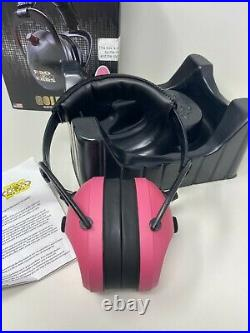 Pro Ears PEG2SMP Pro Ears Gold II 26 Electronic 26 dB Ear Muffs, Pink