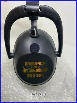 Pro Ears PRO 300 Electronic Earmuff NRR 26, Black # P300BBX MADE IN USA