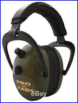 Pro Ears Peg2smg Pro Ears Gold II 26 Electronic 26 Db Green