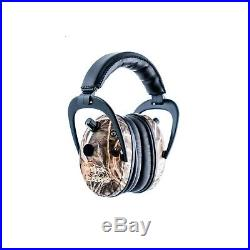 Pro Ears Predator Gold Ear Muffs Realtree Advantage Max 4