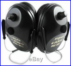 Pro Ears Pro 300 Wind Abatement Hearing Protection NRR 26dB P300-B-BH-H-Black