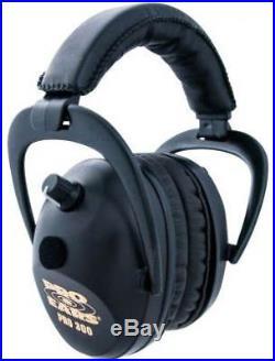 Pro Ears Pro 300 Wind Abatement NRR 26dB Headset, Black P300-B- P300-B Black
