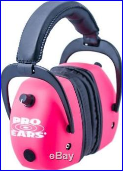 Pro-Ears Pro Mag Gold Hearing Protection Headset, Pink Ear Muffs GS-DPM Pink