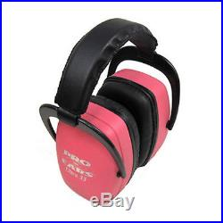 Pro Ears Pro Mag Gold NRR 30 Pink Electronic Hearing Protector