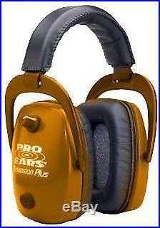 Pro-Ears Pro Slim Gold Electronic Earmuffs, Orange Ear Muffs GS DPS O Orange