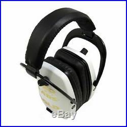 Pro-Ears Pro Slim Gold Electronic Earmuffs, White GSDPSWHITE