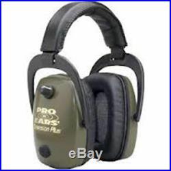 Pro Ears Pro Slim Gold Series Ear Muffs Green #GS-DPS-G