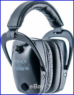 Pro Ears Pro Tac Gold Slim Medium Profile NRR 28 Headset, Black GS-PTS Black