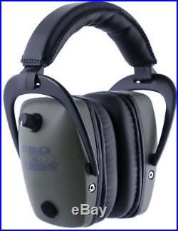 Pro Ears Pro Tac Gold Slim Medium Profile NRR 28 Headset, Green GS-PTS-L Green