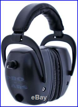 Pro Ears Pro Tac Mag Gold NRR 30 Hearing Protection Earmuffs, Black GS- GSPTMB
