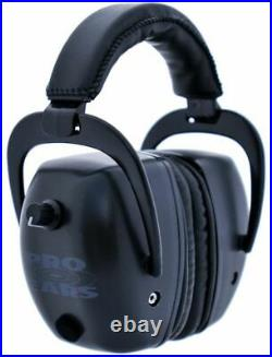 Pro Ears Pro Tac Mag Gold NRR 30 Hearing Protection Earmuffs, Black with GSPTMLB