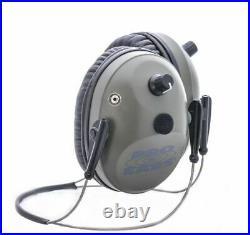 Pro Ears Pro Tac Plus Gold Low Profile NRR 26 Earmuffs, Green, GS-PT300-G-BH