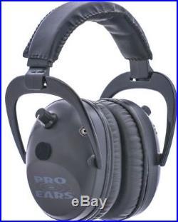 Pro Ears Pro Tac Plus Gold Low Profile NRR 26 Over The Head GS-PT300-L Black