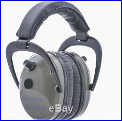 Pro Ears Pro Tac Plus Gold Low Profile NRR 26 Over The Head GS-PT300-L Green