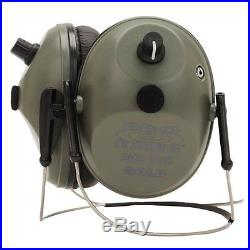 Pro Ears Pro Tac Plus Gold NRR 26dB, Behind The Head, Lithium 123 Battery, Green