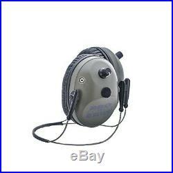 Pro Ears Pro Tac Plus Gold NRR 26db Ear muffs, Lithium Batteries, Green