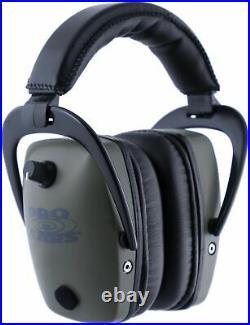 Pro Ears Pro Tac Plus Gold Slim Medium Profile NRR 28 Headset, GS-PTS Green