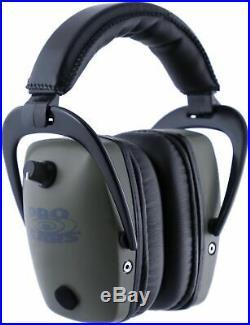 Pro Ears Pro Tac Plus Gold Slim Medium Profile NRR 28 Headset, Green GSPTSG