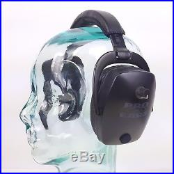 Pro Ears Pro Tac Slim Gold Ear Muffs Black GS-PTS-L Black NRR 28