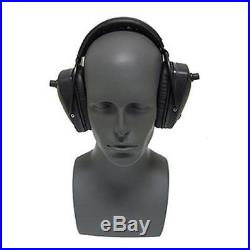 Pro Ears Pro Tac Slim Gold Hearing Protection Earmuffs NRR 28 Black GS-PTS BLK