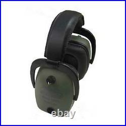 Pro Ears Pro Tac Slim Gold Hearing Protection Earmuffs NRR 28 Green GS-PTS-L-G