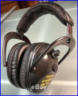 Pro Ears Pro Tekt Plus Gold Industrial Electronic Ear Muffs NRR26