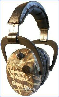 Pro Ears Stalker Gold Electronic Hearing Protection and