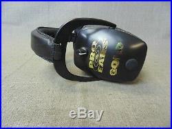 Pro-slim Gold Electronic Earmuffs In Box (75711-6 H)