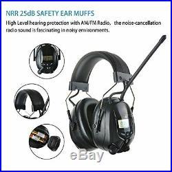 Protear Radio Safety Earmuffs Audio Tough Sound Electronic Noise Reduction Ear